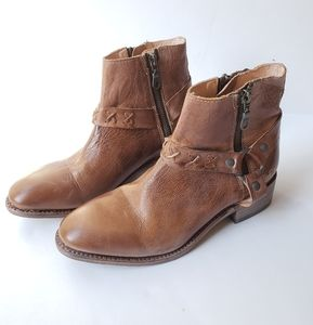 Bedstu Cobbler Organic Tanned Leather Bootie
